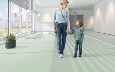Kiemelkedő padlóburkolatok magas higiénés igényű területekre